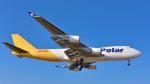 パンダさんが、成田国際空港で撮影したポーラーエアカーゴ 747-45EF/SCDの航空フォト(写真)