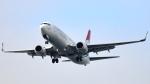 誘喜さんが、アタテュルク国際空港で撮影したサモン・エア 737-8GJの航空フォト(写真)