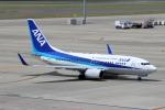 ハピネスさんが、中部国際空港で撮影した全日空 737-781の航空フォト(飛行機 写真・画像)