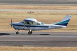 yabyanさんが、名古屋飛行場で撮影したアイベックスアビエイション TU206G Turbo Stationair 6の航空フォト(飛行機 写真・画像)