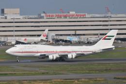 シグナス021さんが、羽田空港で撮影したドバイ・ロイヤル・エア・ウィング 747-422の航空フォト(飛行機 写真・画像)
