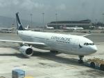 職業旅人さんが、香港国際空港で撮影したキャセイパシフィック航空 A330-343Xの航空フォト(写真)