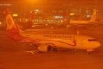 ユターさんが、天津浜海国際空港で撮影した福州航空 737-808の航空フォト(写真)