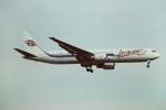 tassさんが、ロンドン・ガトウィック空港で撮影したレジャー・インターナショナル・エアウェイズ 767-39H/ERの航空フォト(写真)
