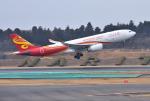 mojioさんが、成田国際空港で撮影した香港航空 A330-243の航空フォト(飛行機 写真・画像)