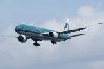 isiさんが、羽田空港で撮影したキャセイパシフィック航空 777-367/ERの航空フォト(写真)
