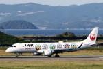 demodori6さんが、長崎空港で撮影したジェイ・エア ERJ-190-100(ERJ-190STD)の航空フォト(飛行機 写真・画像)