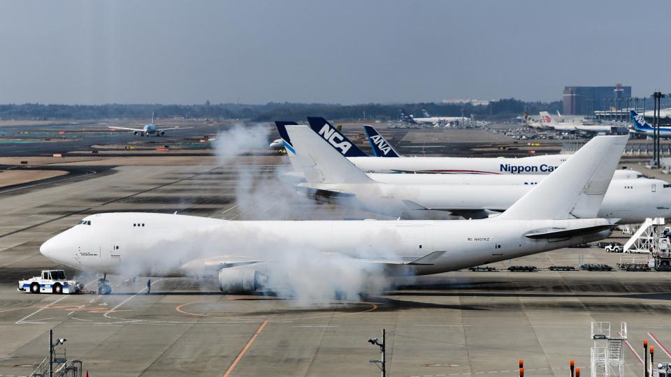 パンダさんのアトラス航空 Boeing 747-400 (N407KZ) 航空フォト