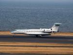名無しの権兵衛さんが、羽田空港で撮影した全日空 Gulfstream G650 (G-VI)の航空フォト(写真)