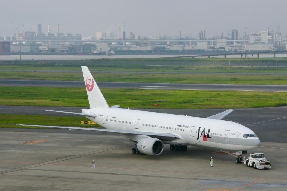 starlightさんの日本航空 Boeing 777-200 (JA8983) 航空フォト