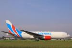 臨時特急7032Mさんが、スルタン・アブドゥル・アジズ・シャー空港で撮影したラヤ・エアウェイズ 767-223(SF)の航空フォト(写真)
