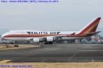 Chofu Spotter Ariaさんが、横田基地で撮影したカリッタ エア 747-4H6(BCF)の航空フォト(飛行機 写真・画像)