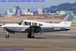 Chofu Spotter Ariaさんが、名古屋飛行場で撮影した日本個人所有 PA-28R-201 Arrowの航空フォト(飛行機 写真・画像)
