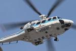 スカルショットさんが、名古屋飛行場で撮影した海上保安庁 AW139の航空フォト(写真)