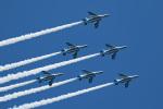 スカルショットさんが、名古屋飛行場で撮影した航空自衛隊 T-4の航空フォト(写真)
