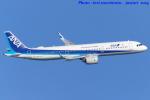 いおりさんが、羽田空港で撮影した全日空 A321-272Nの航空フォト(写真)