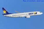 いおりさんが、羽田空港で撮影したスカイマーク 737-8HXの航空フォト(写真)