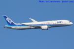 いおりさんが、羽田空港で撮影した全日空 787-9の航空フォト(写真)