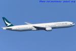 いおりさんが、羽田空港で撮影したキャセイパシフィック航空 777-367の航空フォト(写真)