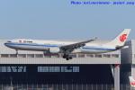 いおりさんが、羽田空港で撮影した中国国際航空 A330-343Xの航空フォト(写真)