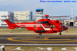 いおりさんが、東京ヘリポートで撮影した東京消防庁航空隊 EC225LP Super Puma Mk2+の航空フォト(写真)