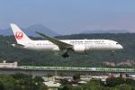 MA~RUさんが、台北松山空港で撮影した日本航空 787-8 Dreamlinerの航空フォト(写真)
