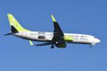 kuro2059さんが、羽田空港で撮影したソラシド エア 737-81Dの航空フォト(写真)