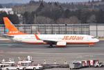 mojioさんが、成田国際空港で撮影したチェジュ航空 737-86Nの航空フォト(写真)