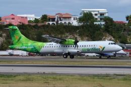 zettaishinさんが、プリンセス・ジュリアナ国際空港で撮影したエア・アンティル・エクスプレス ATR-72-600の航空フォト(飛行機 写真・画像)