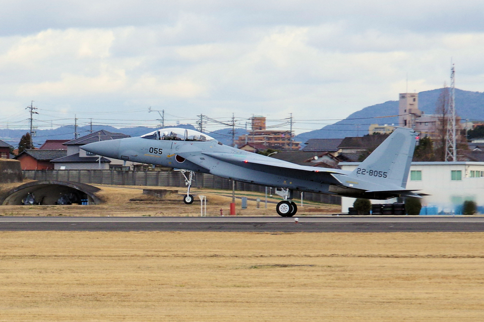 yabyanさんの航空自衛隊 McDonnell Douglas F-15DJ Eagle (22-8055) 航空フォト