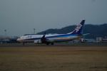 FRTさんが、松山空港で撮影した全日空 737-8ALの航空フォト(飛行機 写真・画像)