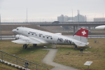 JA8037さんが、ミュンヘン・フランツヨーゼフシュトラウス空港で撮影したスイス航空 DC-3の航空フォト(写真)