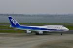 starlightさんが、羽田空港で撮影した全日空 747-481(D)の航空フォト(写真)