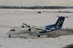 starlightさんが、札幌飛行場で撮影したエアーニッポンネットワーク DHC-8-314Q Dash 8の航空フォト(写真)