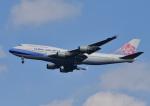 じーく。さんが、成田国際空港で撮影したチャイナエアライン 747-409の航空フォト(飛行機 写真・画像)
