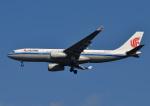 じーく。さんが、成田国際空港で撮影した中国国際航空 A330-243の航空フォト(飛行機 写真・画像)