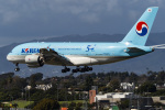 LAX Spotterさんが、ロサンゼルス国際空港で撮影した大韓航空 A380-861の航空フォト(写真)