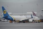 JA8037さんが、ミュンヘン・フランツヨーゼフシュトラウス空港で撮影したウクライナ国際航空 737-8Q8の航空フォト(写真)