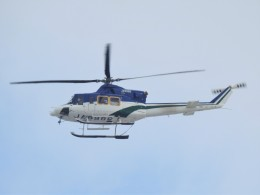 tetuさんが、札幌飛行場で撮影した朝日航洋 412の航空フォト(飛行機 写真・画像)