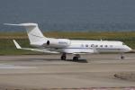 キイロイトリさんが、関西国際空港で撮影したウェルズ・ファーゴ・バンク・ノースウェスト G-V-SP Gulfstream G550の航空フォト(写真)