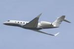 キイロイトリさんが、関西国際空港で撮影したエアクラフト・ギャランティ (AGC) Gulfstream G650ER (G-VI)の航空フォト(写真)