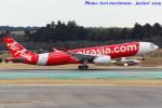 いおりさんが、成田国際空港で撮影したタイ・エアアジア・エックス A330-343Xの航空フォト(写真)