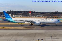 いおりさんが、成田国際空港で撮影したガルーダ・インドネシア航空 777-3U3/ERの航空フォト(写真)