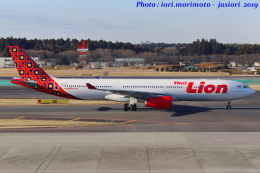 いおりさんが、成田国際空港で撮影したタイ・ライオン・エア A330-343Xの航空フォト(写真)