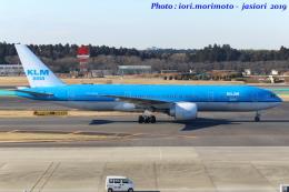 いおりさんが、成田国際空港で撮影したKLMオランダ航空 777-206/ERの航空フォト(写真)