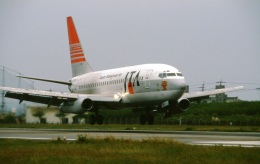 LEVEL789さんが、石垣空港で撮影した日本トランスオーシャン航空 737-2Q3/Advの航空フォト(飛行機 写真・画像)