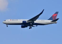 じーく。さんが、成田国際空港で撮影したデルタ航空 767-332/ERの航空フォト(写真)