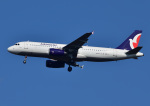 じーく。さんが、成田国際空港で撮影したマカオ航空 A320-232の航空フォト(飛行機 写真・画像)