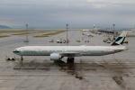 ハピネスさんが、中部国際空港で撮影したキャセイパシフィック航空 777-367/ERの航空フォト(飛行機 写真・画像)