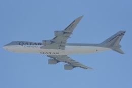 cornicheさんが、ドーハ・ハマド国際空港で撮影したカタール航空カーゴ 747-87UF/SCDの航空フォト(写真)